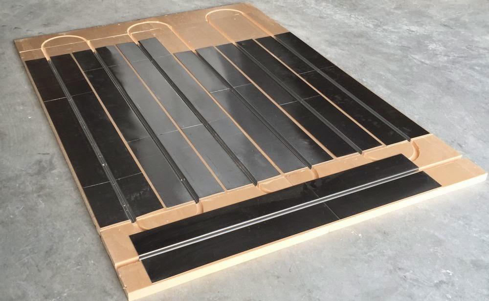 plancher chauffant sec mince mur chauffant plafond chauffant caleosol le blog le plancher