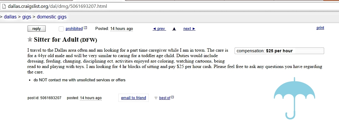 Oh I have questions, I just think he'd be too excited to answer them.  http://dallas.craigslist.org/dal/dmg/5061693207.html