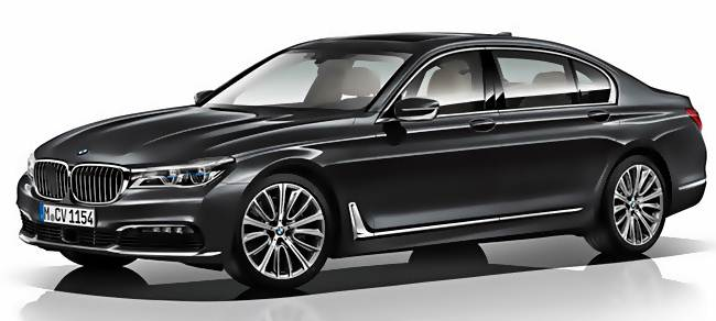 2016 BMW 7 Series Sedan Long Wheelbase