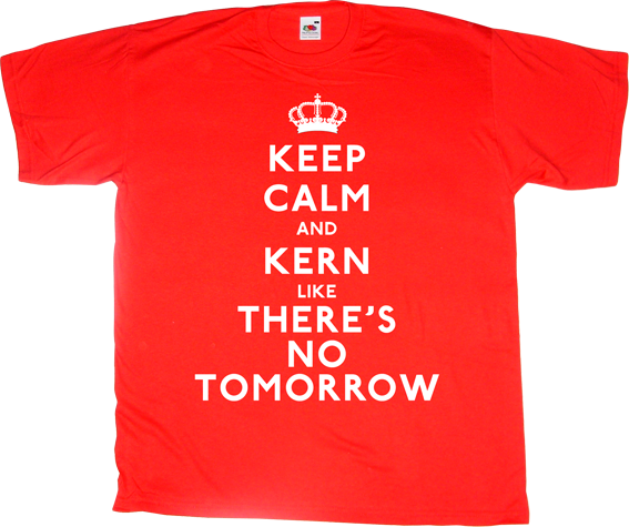 kerning graphic design typography fun typographer t-shirt ephemeral-t-shirts