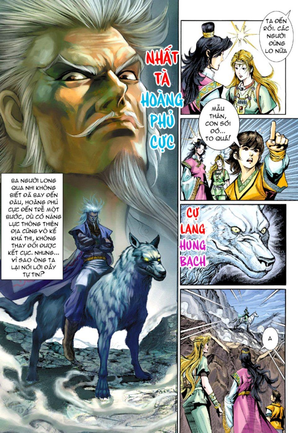 Thiên Tử Truyền Kỳ 5 - Như Lai Thần Chưởng chap 212 - Trang 21