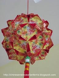 Informasi belajar anak interaktif koleksi gambar lampion for Ang pao origami