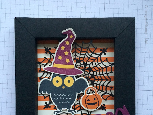 Howl-O-Ween Shadow Box Card