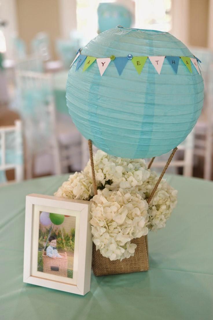 7 centos de mesa para bodas con globos - Donde decorar fotos ...