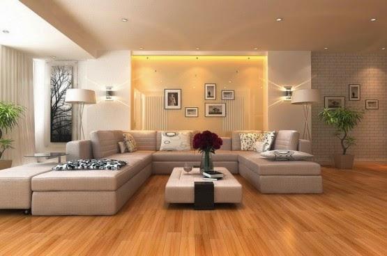 Desain Interior Indah Pada Ruang Keluarga