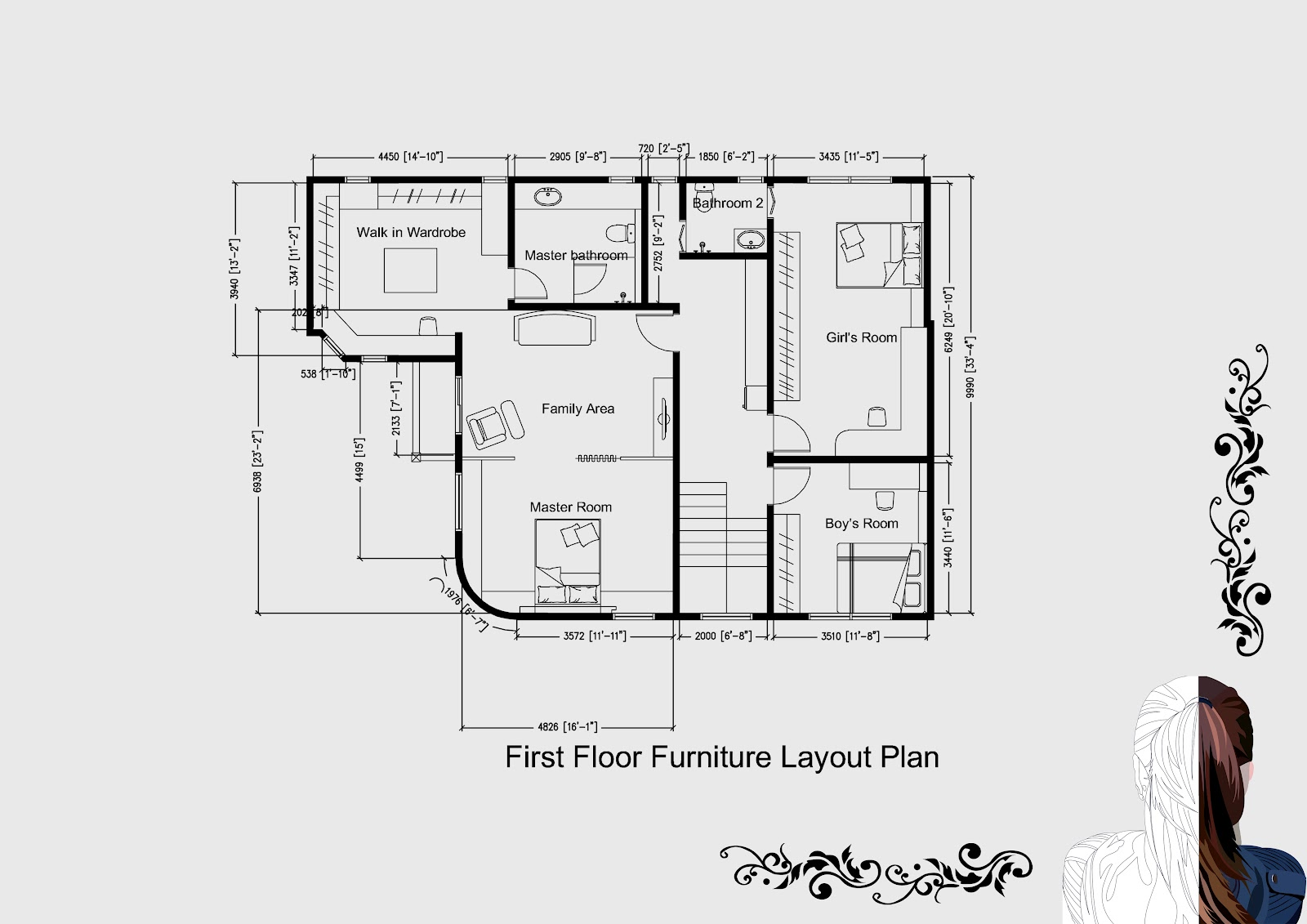 Pandyinteriordesigner Autocad Technical Drawings For