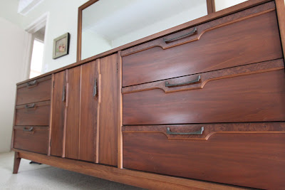 Lenoir House mid-century modern dresser Broyhill