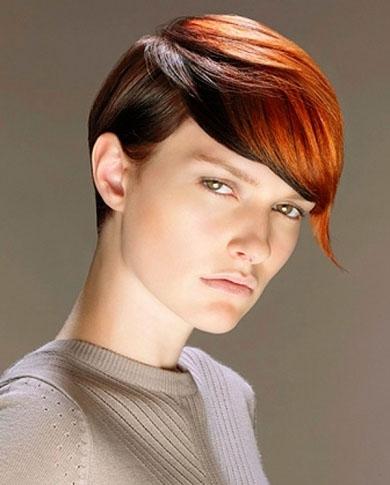 Short Hair Highlights Idea 2014