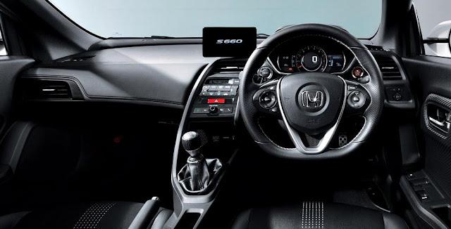 2016 Honda S660 Interior