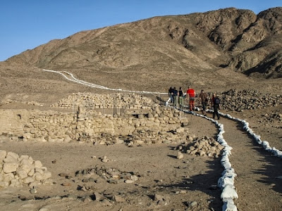 Inca ruins discovered in Nazca, Peru