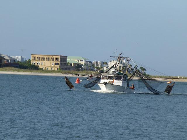 Shrimping boat. St. Augustine, Florida.