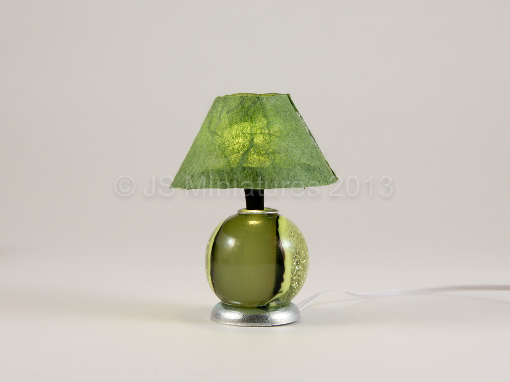 JS Miniatures Blog Table Lamps At The Online Show