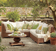 Outdoor Garden Furniture Design Pottery Barn