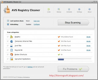 Download AVS Registry Cleaner 2.3.5 Full Version