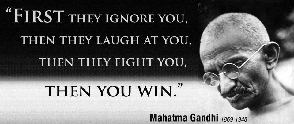my role model mahatma gandhi