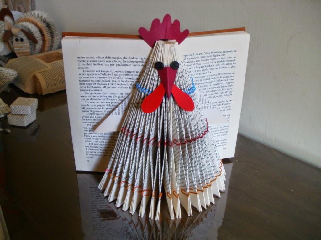 owl folded book by clara maffei book art pinterest. Black Bedroom Furniture Sets. Home Design Ideas