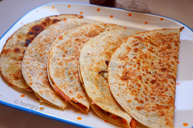 Quesadillas Mushrooms