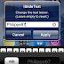 iSlideText permite alterar o texto da barra de desbloqueio