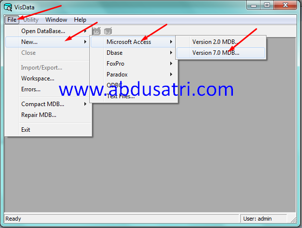 how to build a database table in visual basic 2010