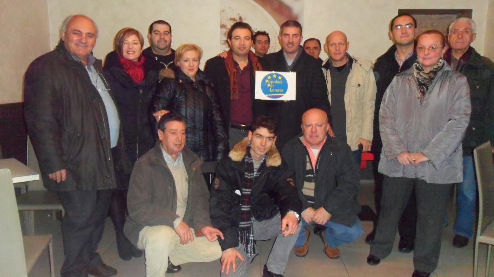 foto inaugurazione PPL con aderenti e amici (clicca sull'immagine)