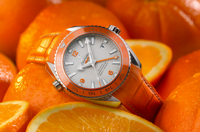 RELOJ OMEGA SEMASTER PLANET OCEAN ORANGE CERAMIC
