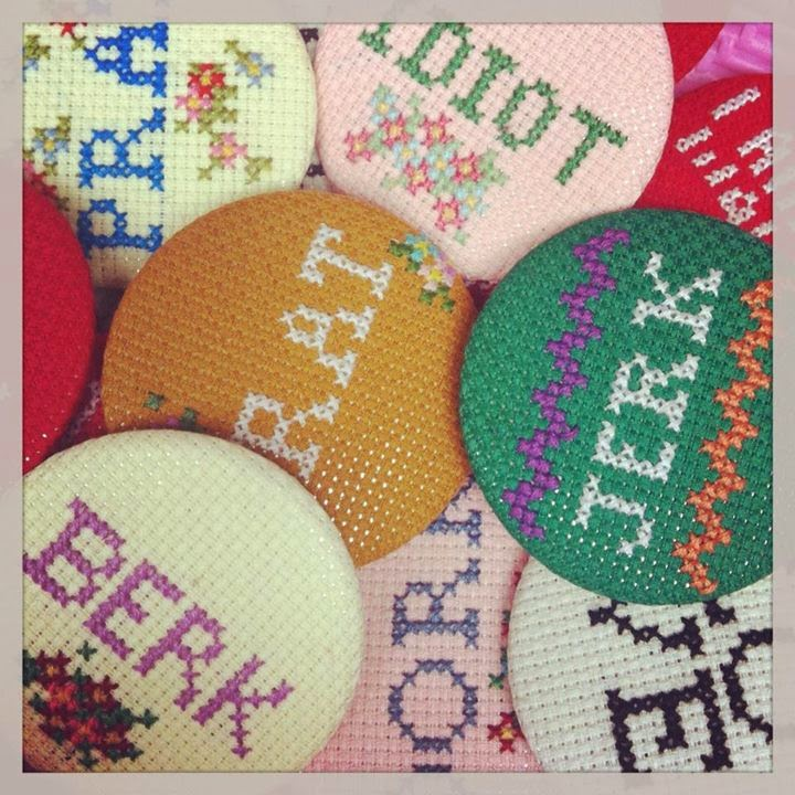 Sarah Fordham Berk, Twat, Jerk Badges