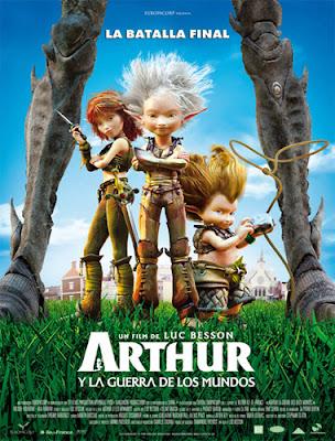 Arthur y la guerra de los dos mundos (2010) Español