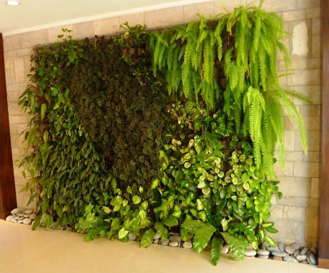 El mundo en femenino jardines verticales for Jardines verticales pequenos
