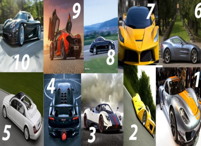 top 10 fastest expensive cars 2014