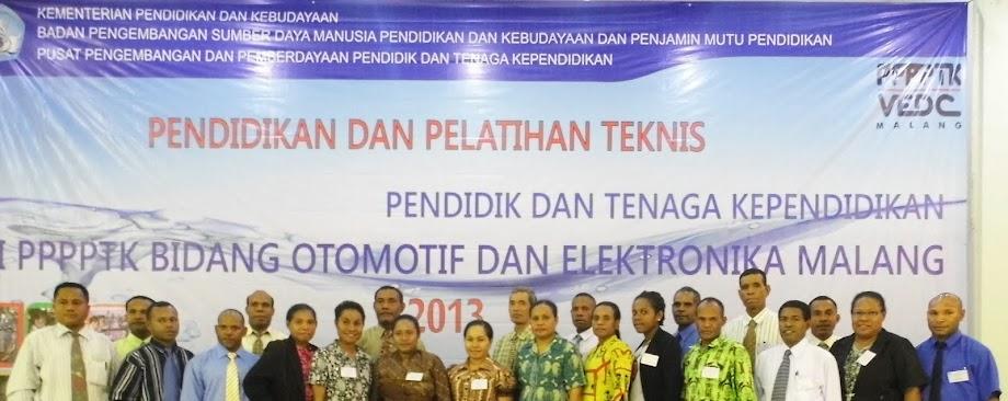 DIKLAT ICT PAPUA