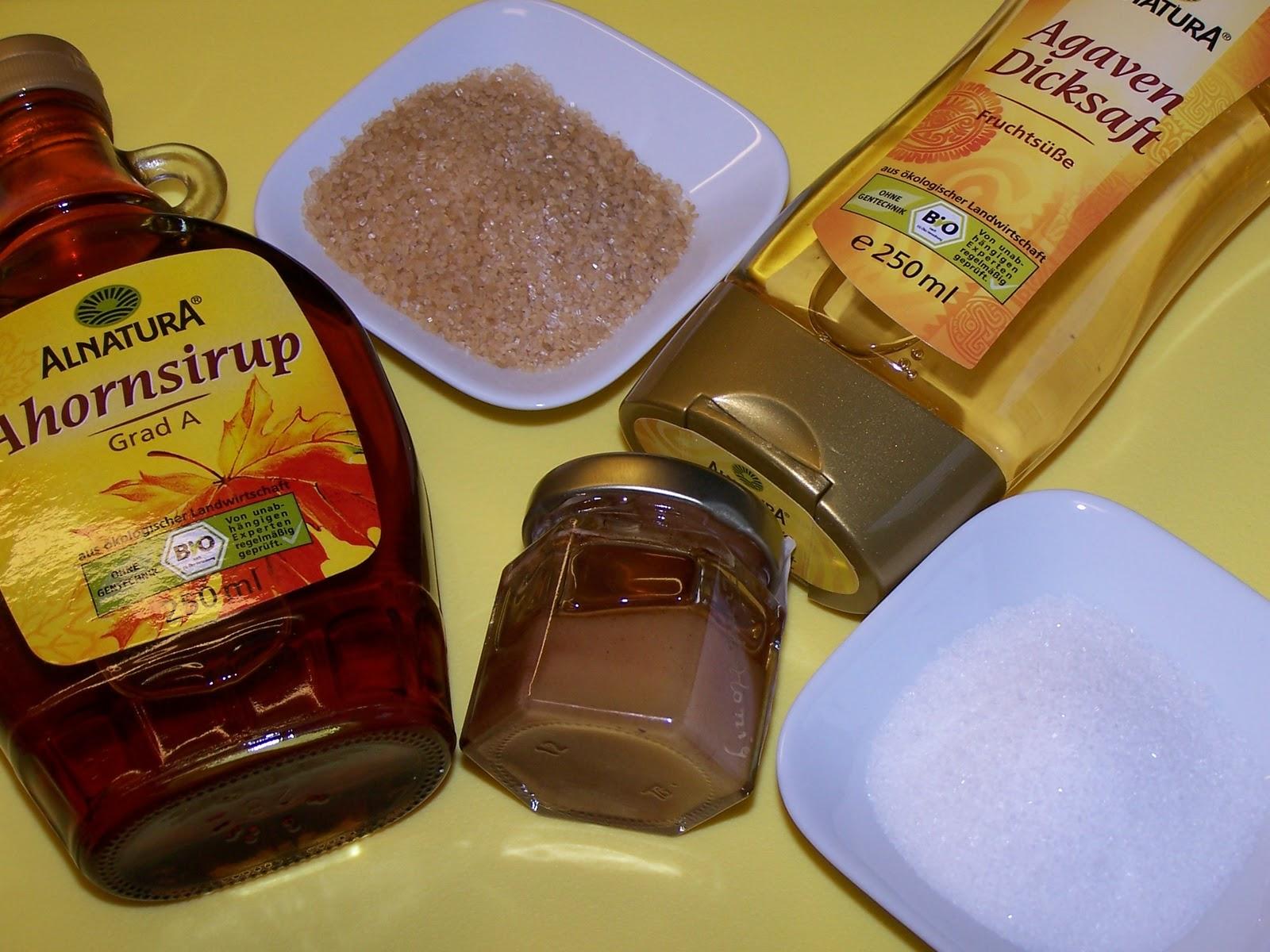 beim backen zucker ersetzen