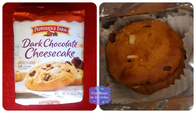 Galletas Pepperidge Farm Dark Chocolate y CheeseCake