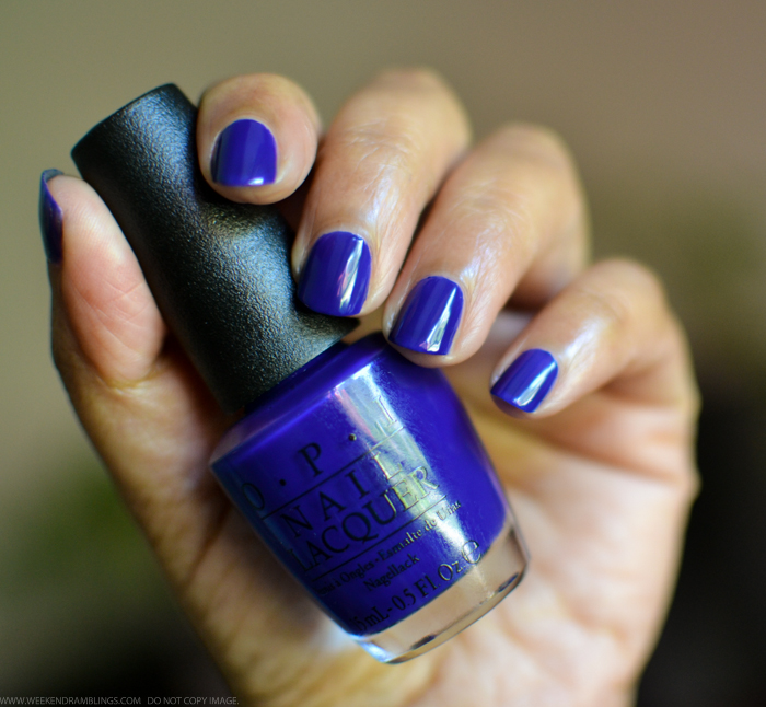 OPI Nail Polish Brights 2015 Collection 2015 My Car Has Navy-Gation