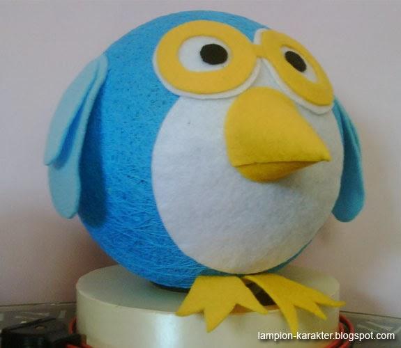 Lampu Unik Angry Bird