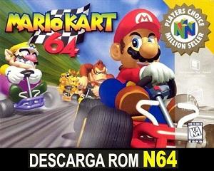 Mario Kart 64 64 ROMs Nintendo64
