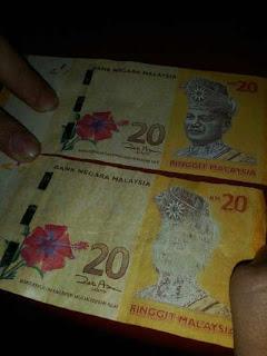 kualiti duit kertas baru