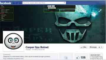 Malware, hacker, botnet