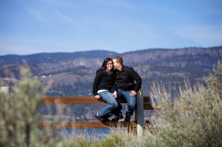 Overlooking Kelowna by Wedded Bliss Photography