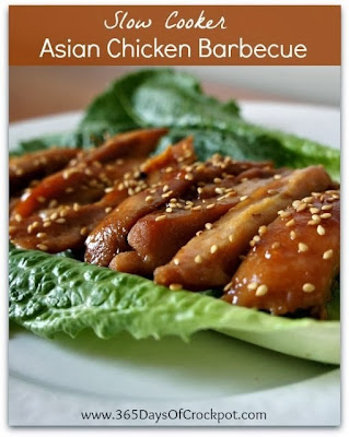 Slow Cooker Asian Chicken Barbecue