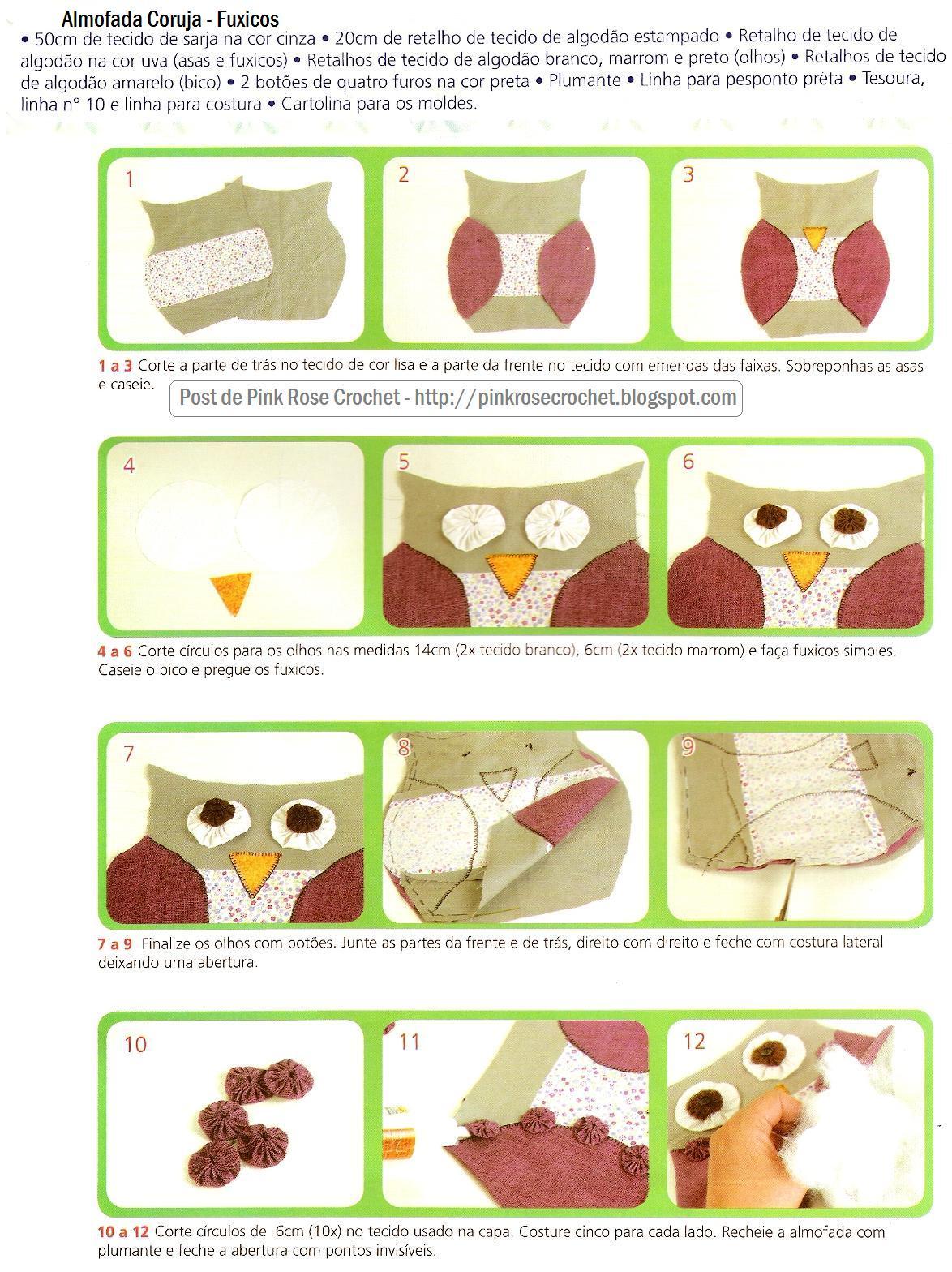 Móbile de coruja: