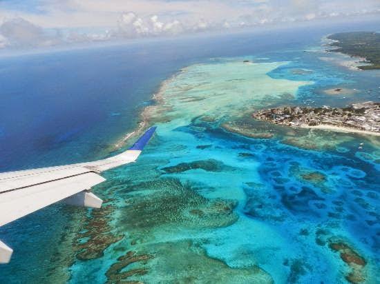 جزيرة من الطائرة