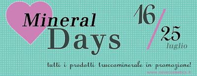 promozioni - promozione - neve cosmetics trucco minerale - sconto - sconti - omaggio gratis gratuito - save the date