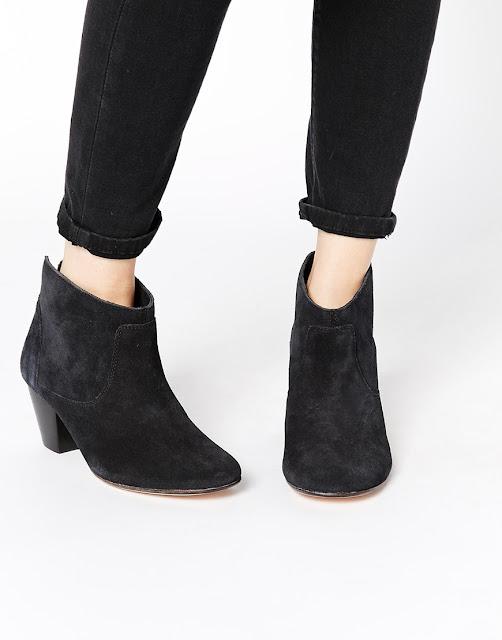 hudson black suede ankle boots, hudson Kiver boots,