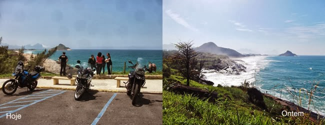 Mirante do Roncador, logo após a praia da Macumba para chegar na Prainha.