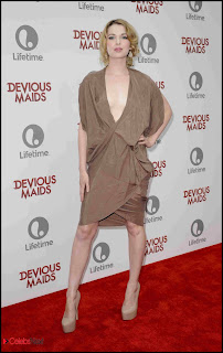 Kirsten Prout Pictures in tail Dress at Lifetime's Devious Maids Premiere Party  0002