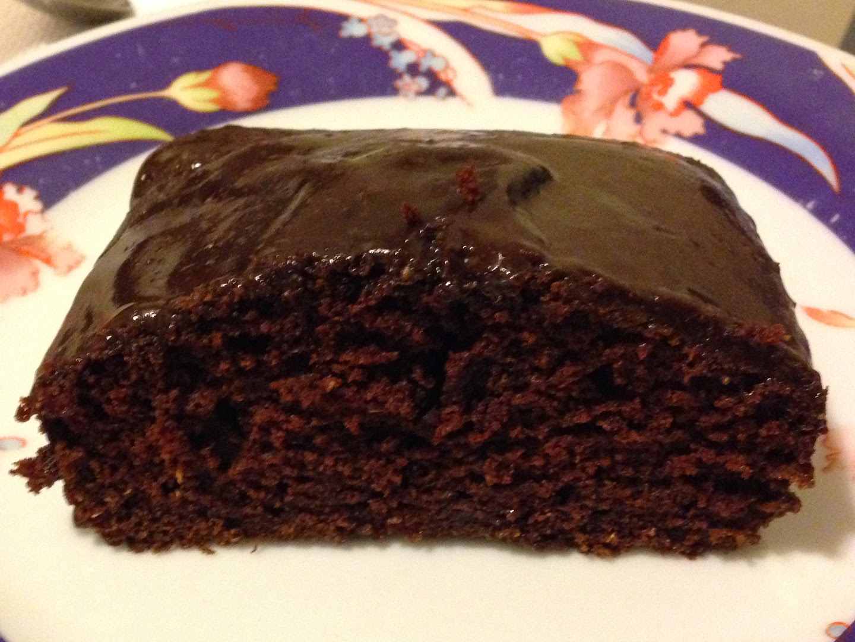 Maria's Rich Chocolate Cake