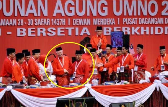 Ramai sebak lihat aksi Najib dengan Muhyiddin