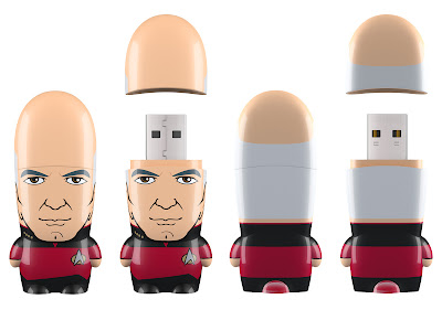 Star Trek Mimobot USB Flashdrives Wave 1 by Mimoco - Captain Picard