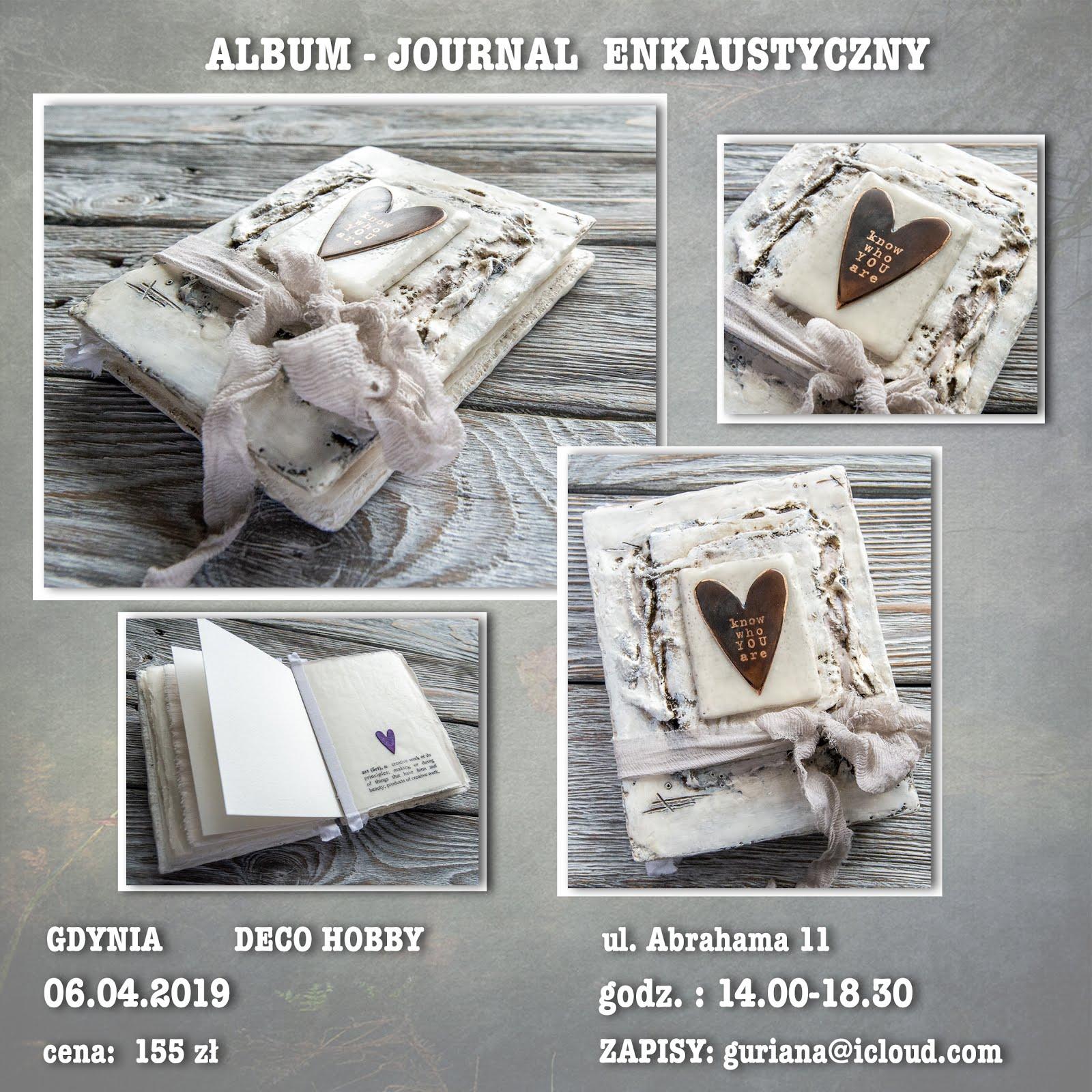 Gdynia Journal enkaustyczny