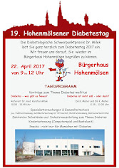 20. Hohenmölsner Diabetestag